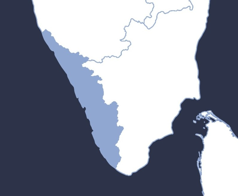 Map Kerala