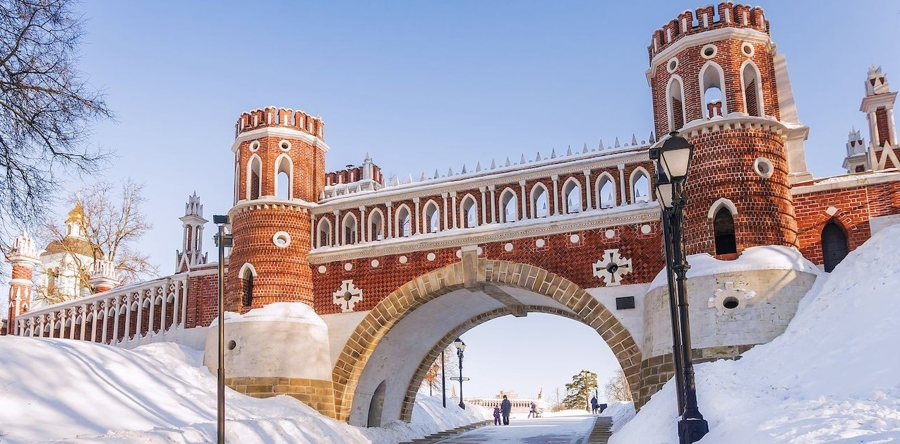 Most beautiful palaces in Moscow, Russia