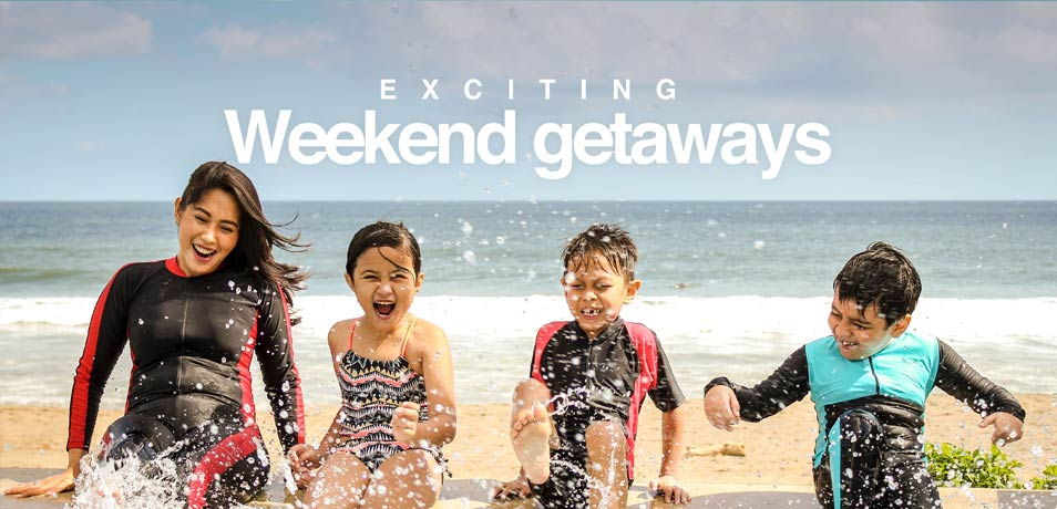 Weekend getaways